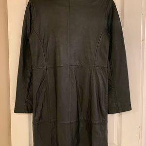 Woman's Leather Coat